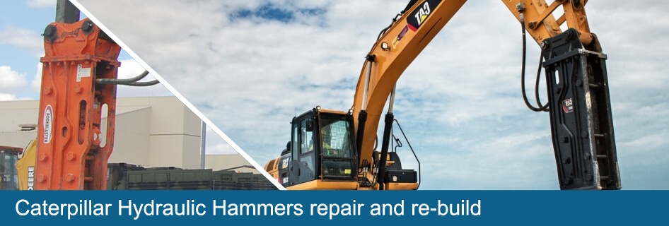 caterpillar hydraulic hammer repair and re-build