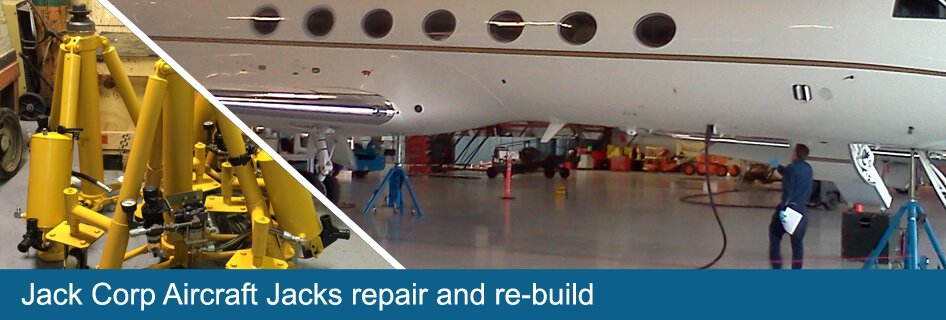 jack corp aircraft jacks repair and re-build