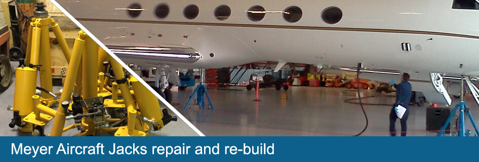 meyer aircraft jacks repair and re-build